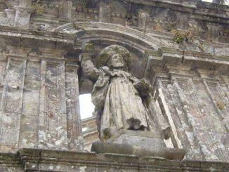 Scultura di San Giacomo di Compostela