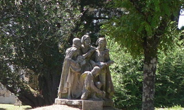 """Monumento a """"Los Tunos"""" di Santiago de Compostela"""