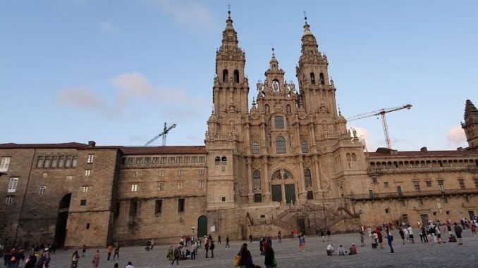 Piazza dell'Obradoiro - Santiago de Compostela