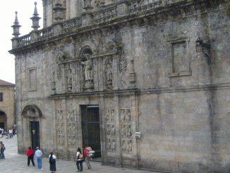 Piazza della Quintana di Santiago de Compostela
