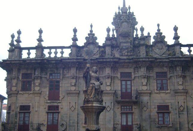 Plaza de las Platerias di Santiago de Compostela