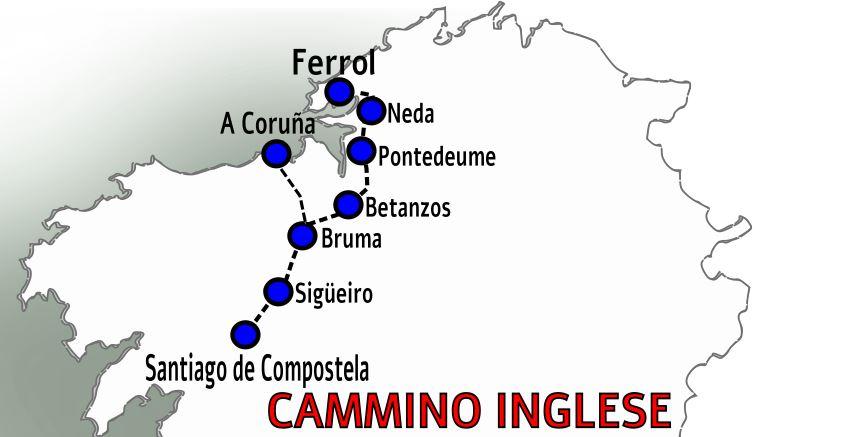 Cammino Inglese - Cammino di Santiago