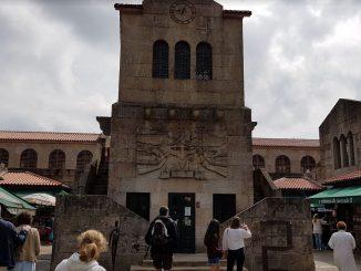 Lo storico Mercado de Abastos di Santiago de Compostela